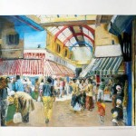 Visit Brixton Markets By Tube poster