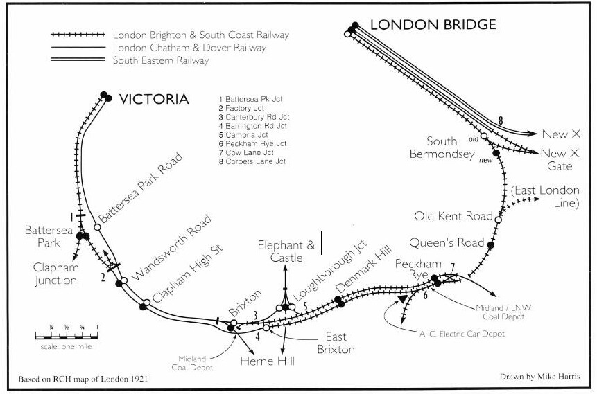 south london line 1921