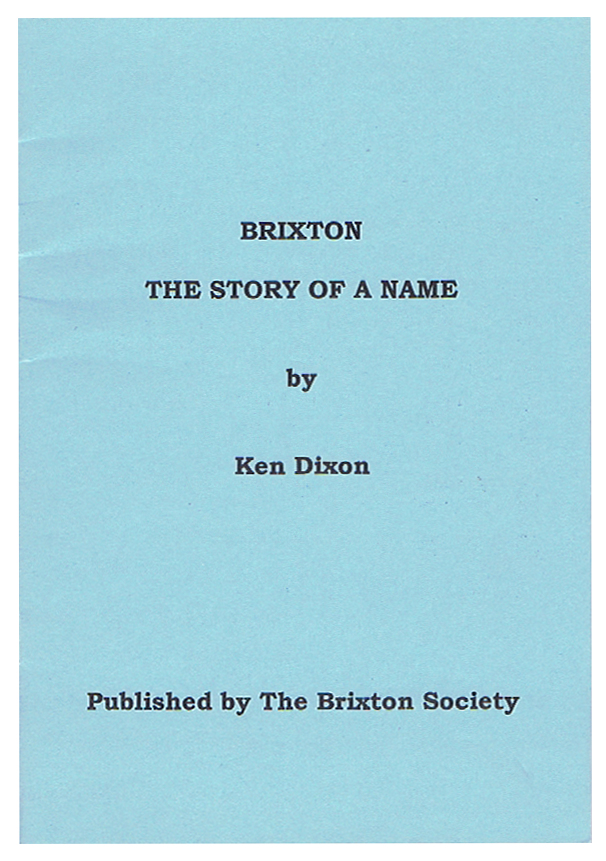 Brixton story of a name