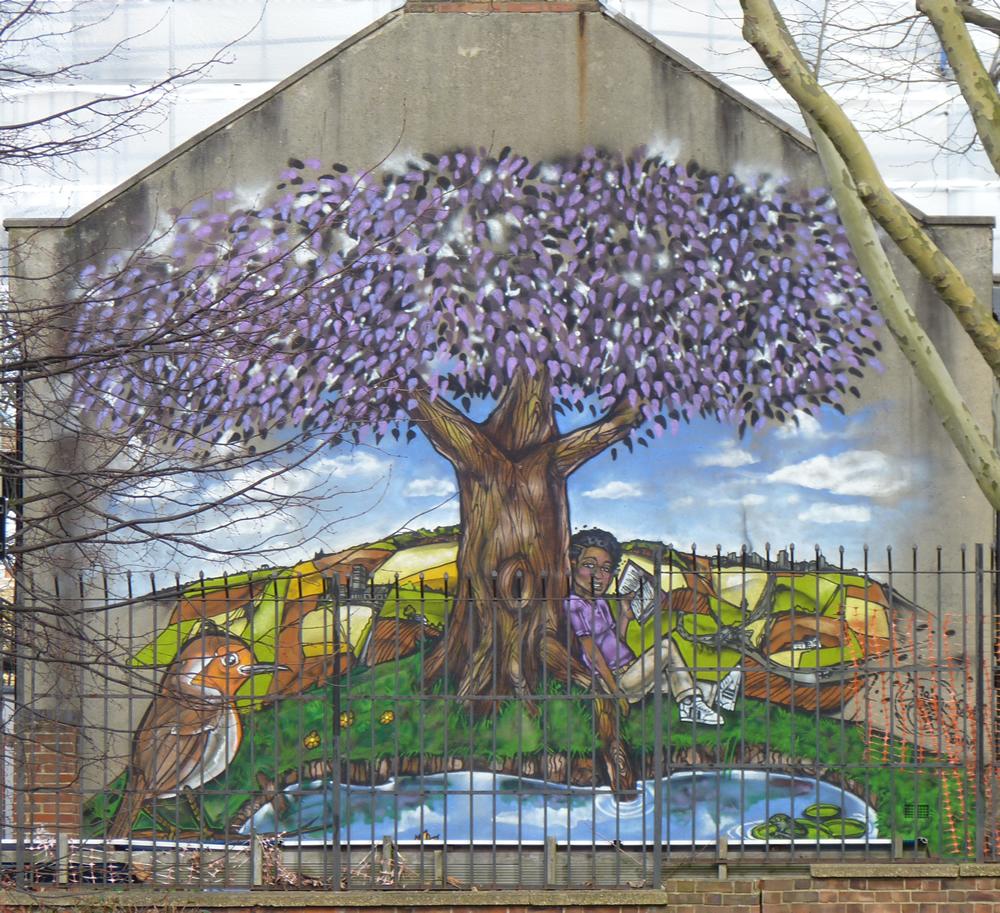 barnwell road mural