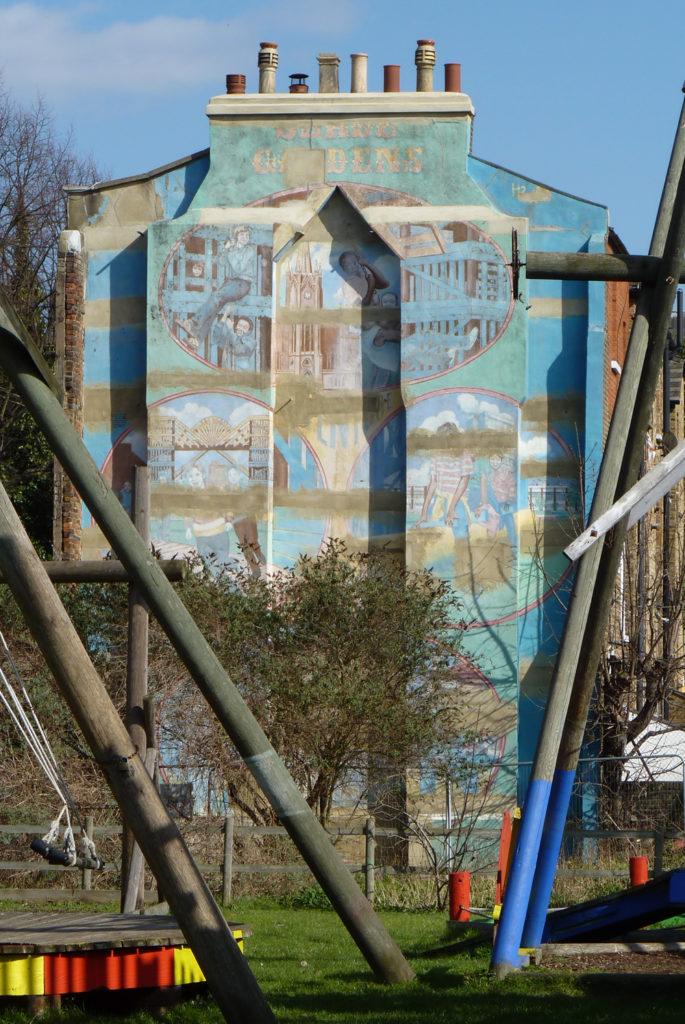 slade gardens mural