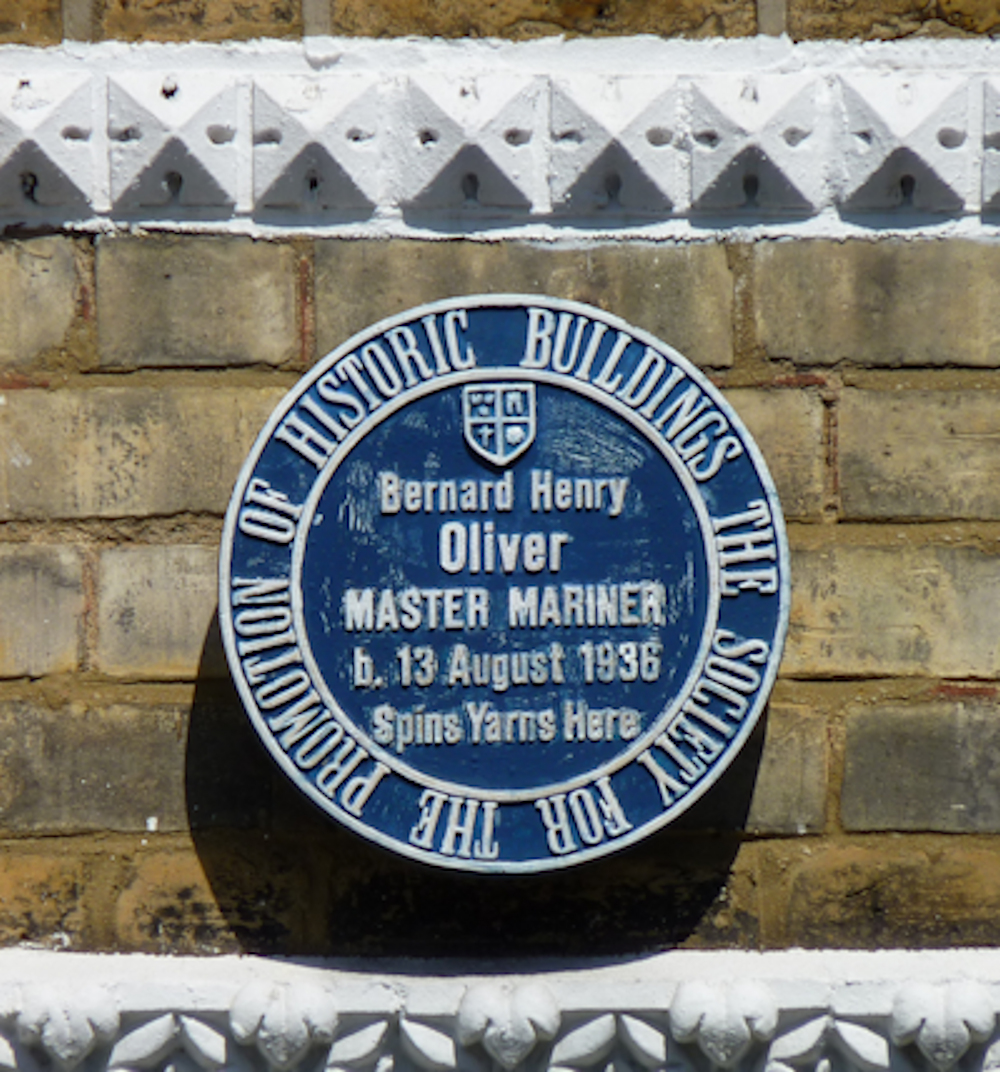 Plaque for Henry Havelock Ellis