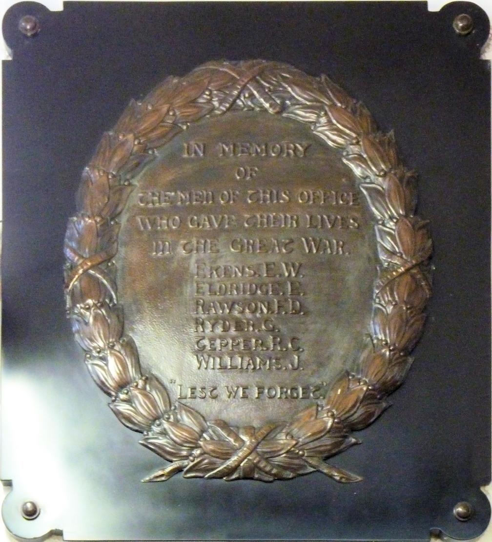 Plaque for Henry Havelock Ellis